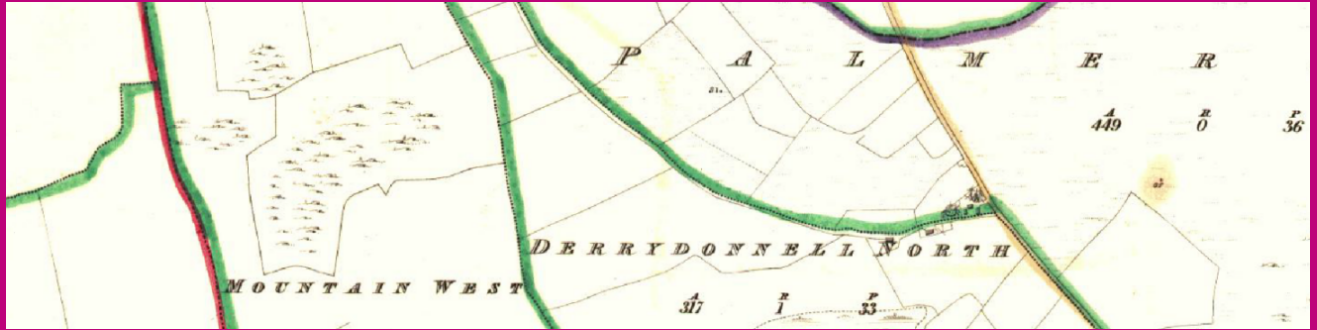 1840s Derrydonnell Map